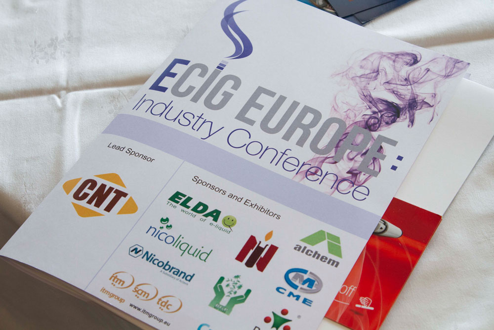 eCig Europe Industry Conference, Nice